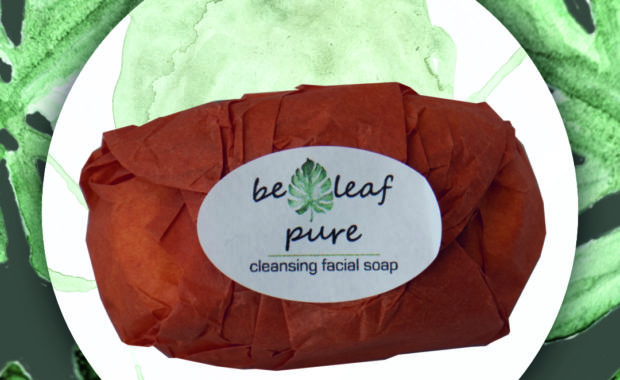 PURE cleansing facial soap